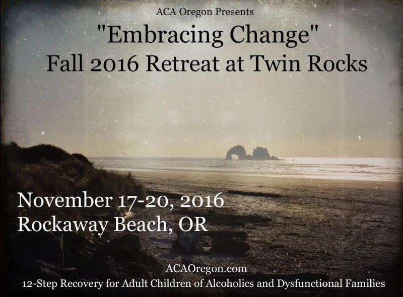 Embracing Change Fall 2016 Retreat