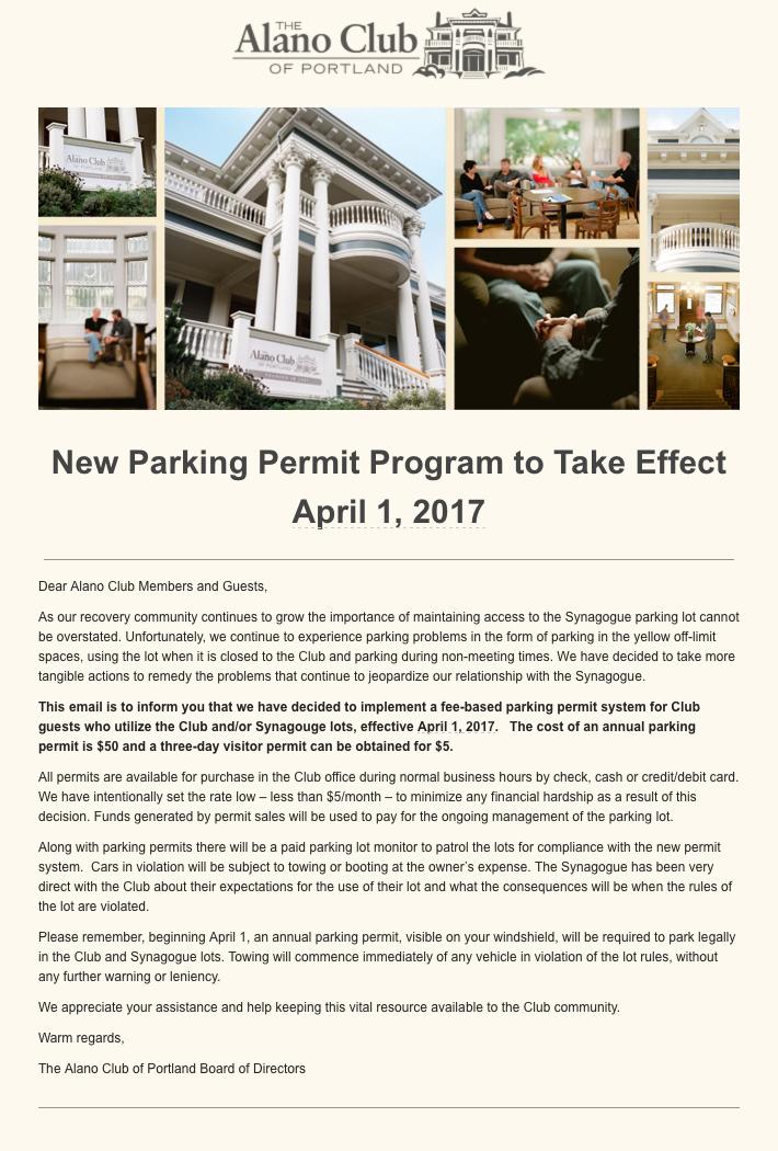 alano parking